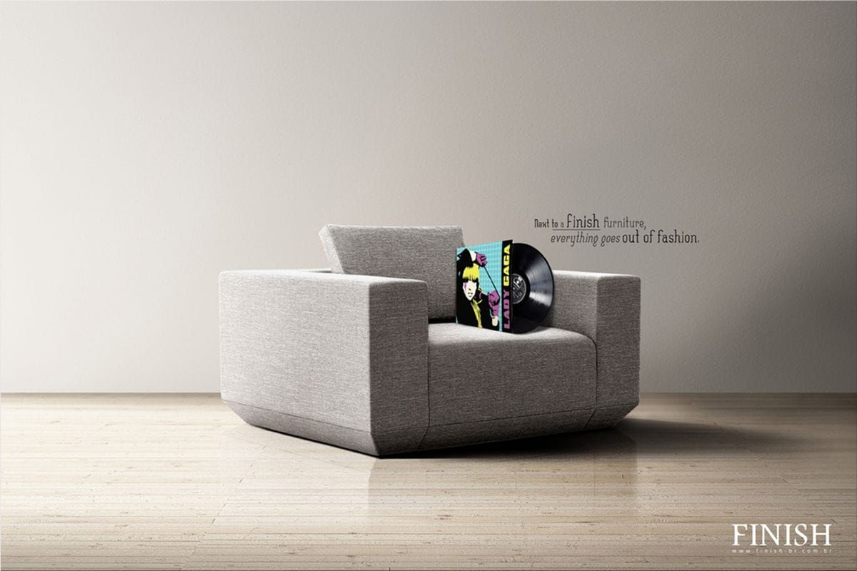 to a furniture everything goes out of fashion finish furnitures ads