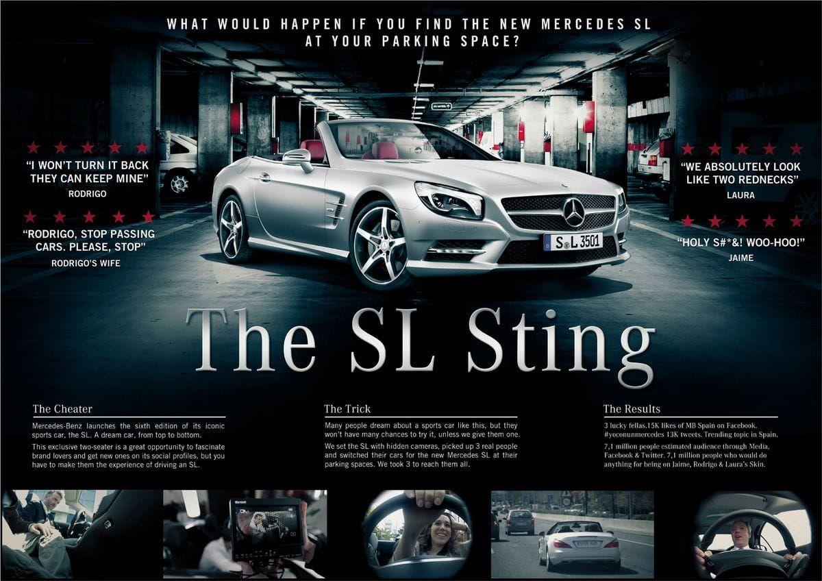 Mercedes Benz Sl Sting Mercedes Ads