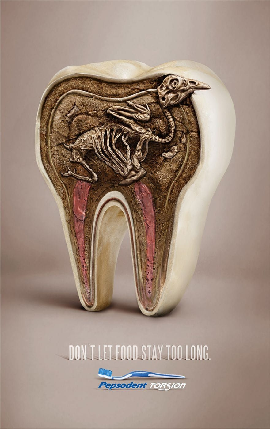 pepsodent don t let food stay too long pepsodent ads