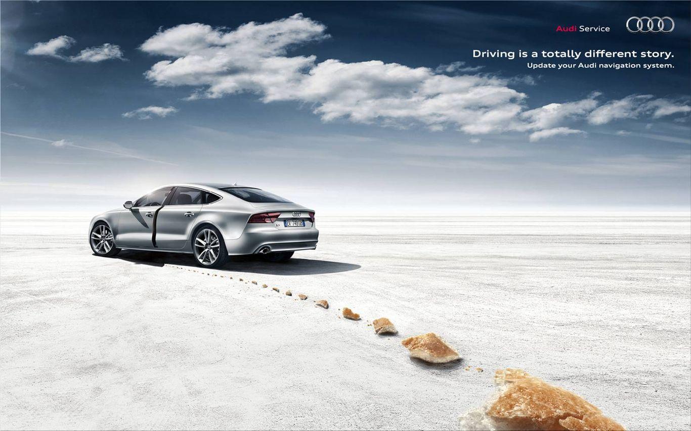 Audi Advertisements Ad Ruby