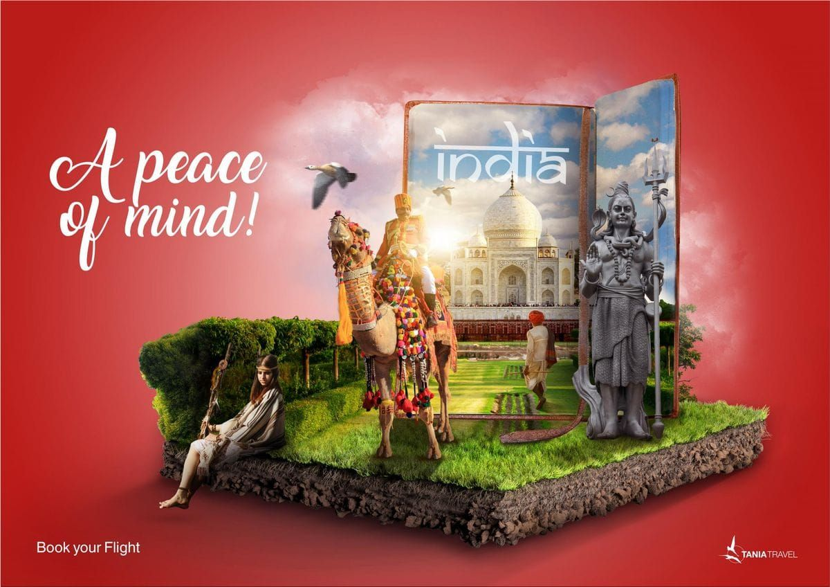 Travel Agency Website >> Tania Travel - Book Your Flight. Tania Travel ads