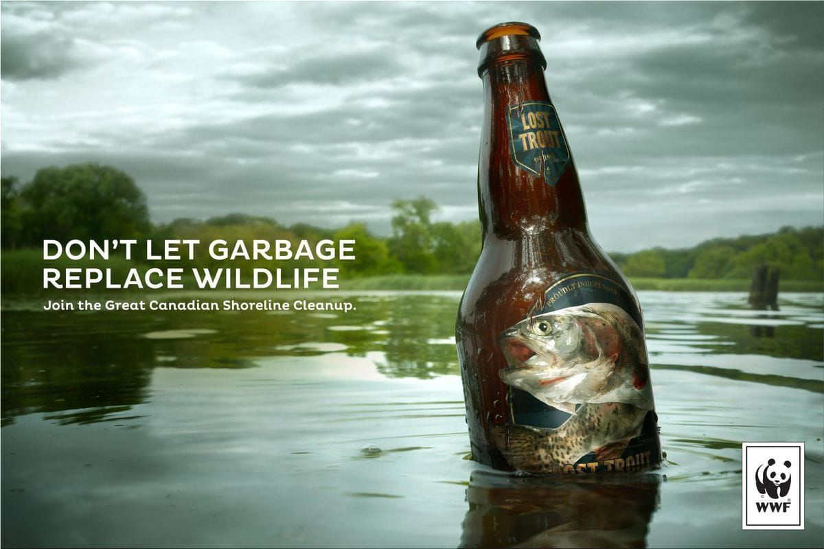Wwf Quot Don T Let Garbage Replace Wildlife Quot By Traffik