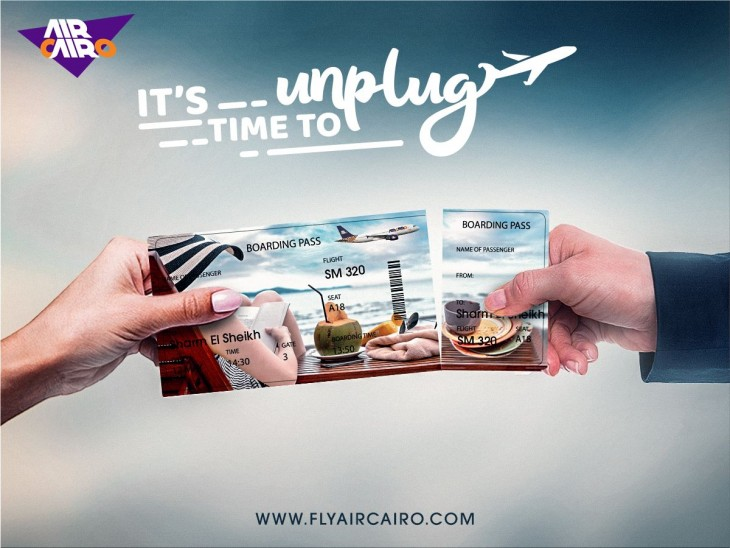 "Air Cairo ""It's Time To Unplug"""