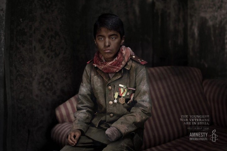 Amnesty International: The youngest war veterans