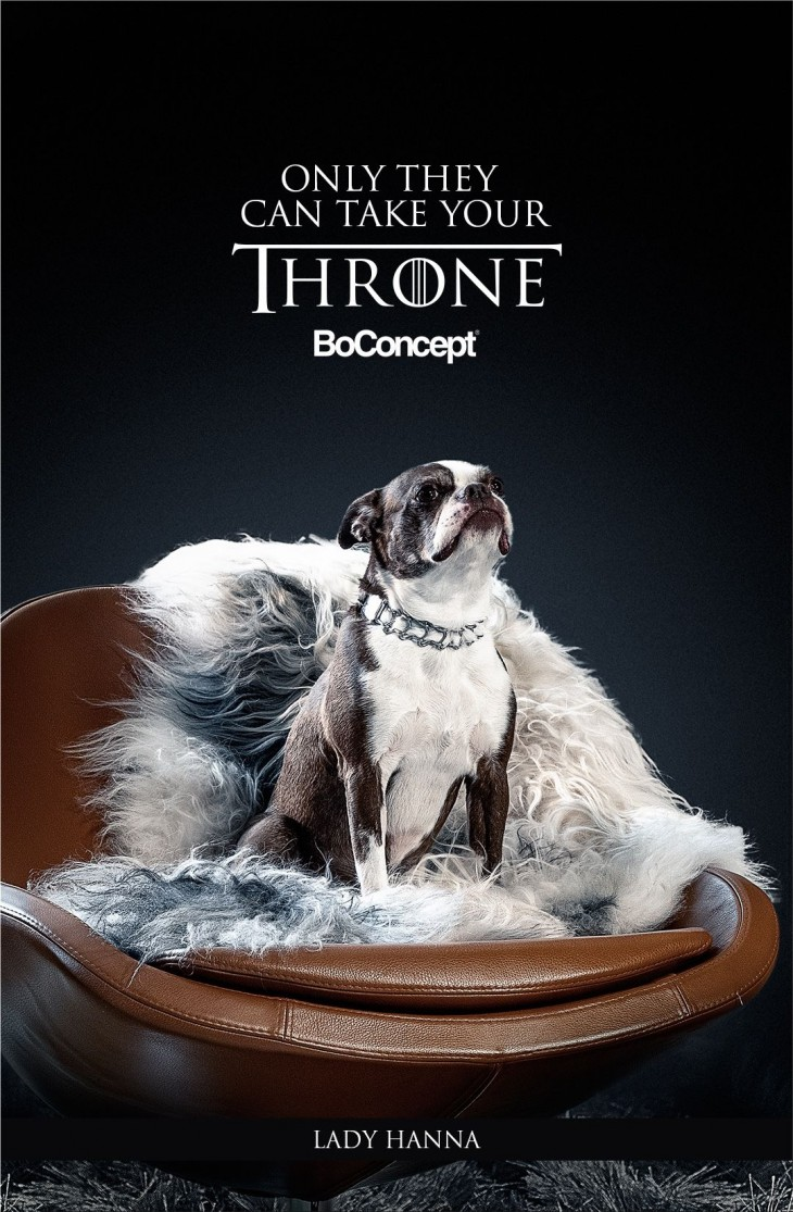 "BoConcept ""Only They Can Take Your Throne"" by Mass Digital"