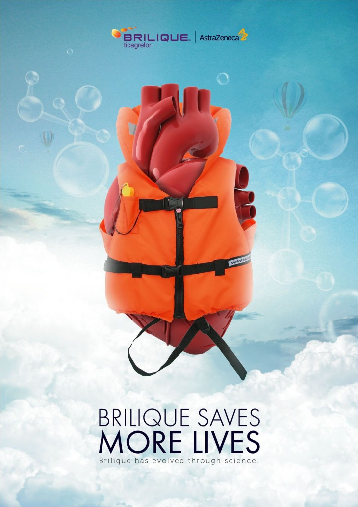 "Brilique ""Saves more lives"""