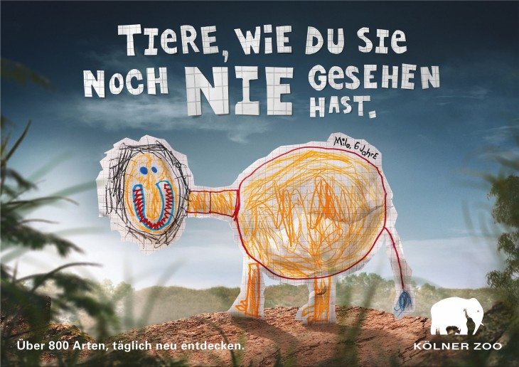 Cologne Zoo ads