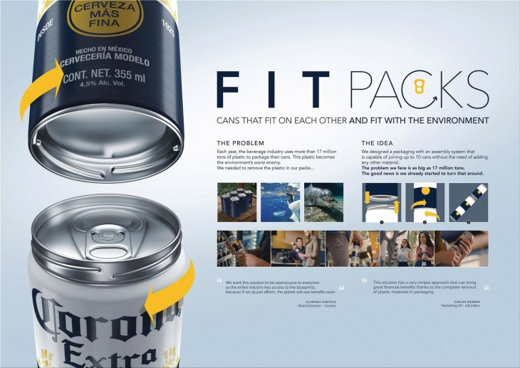 "Corona ""Fit Packs"" by Leo Burnett"