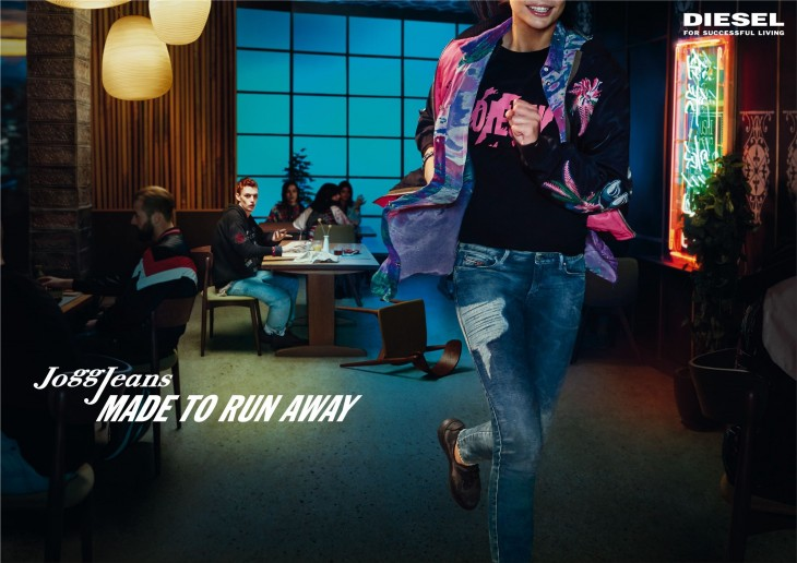 "Diesel ""JoggJeans - Made To Run Away"""