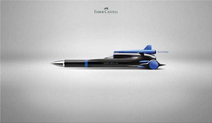 """Faber-Castell: """"Fast & Fluent"""" by FCB"""