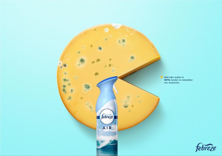"Febreze ""bad odor has bad mood"""