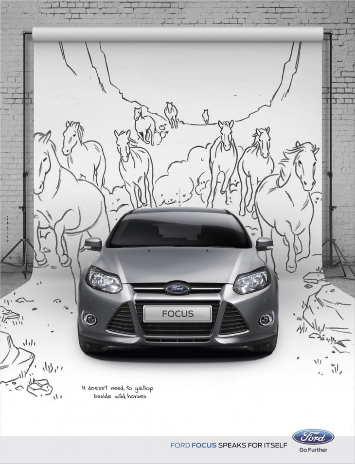 Ford Focus ads