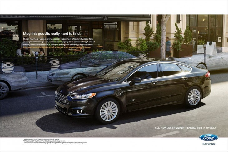 Ford Fusion ads