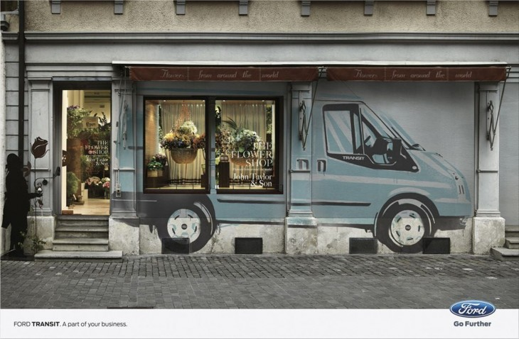 Ford Transit ads