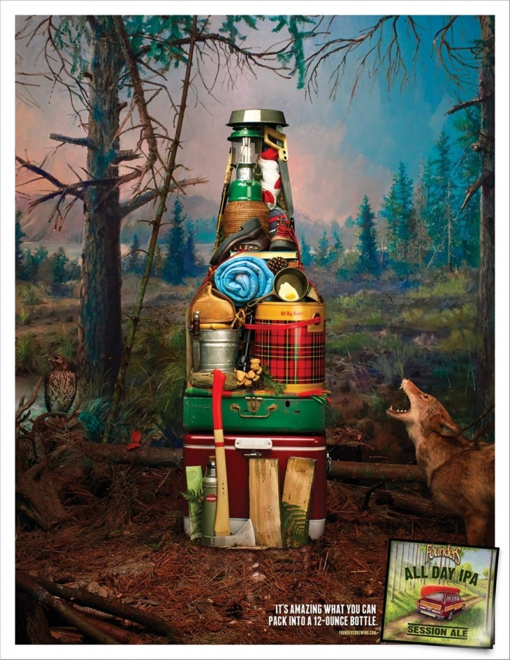 Founders Brewing ads