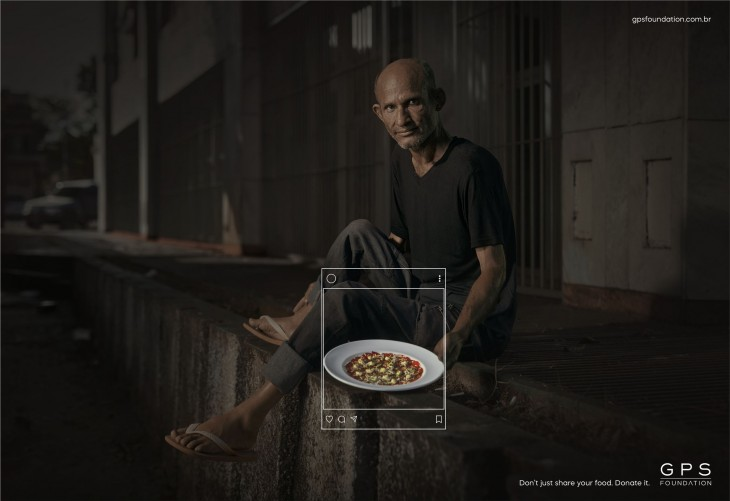 """GPS Foundation """"Don't just share your food. Donate it."""""""