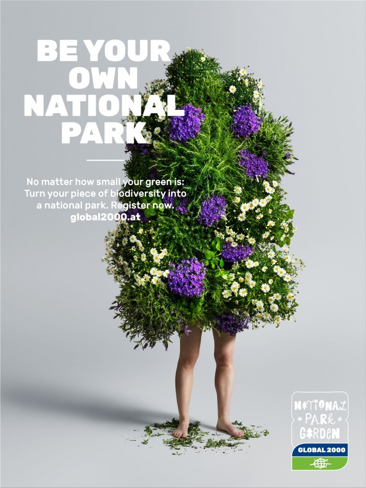 """Global 2000 """"be your own national park"""""""