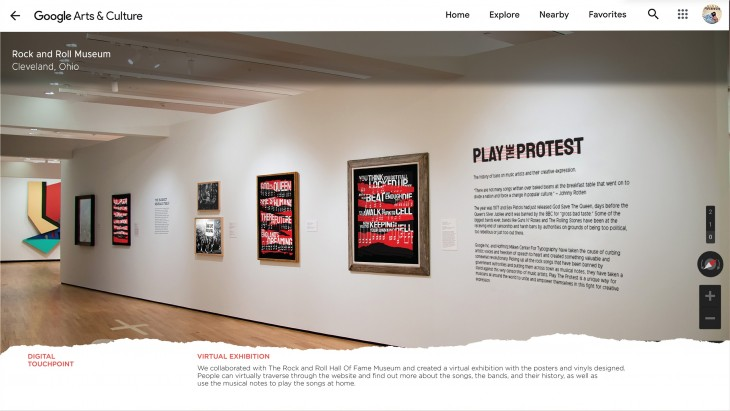"Google + HMCT ""Play The Protest"""