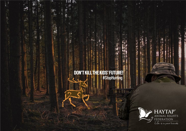 Haytap #StopHunting ads