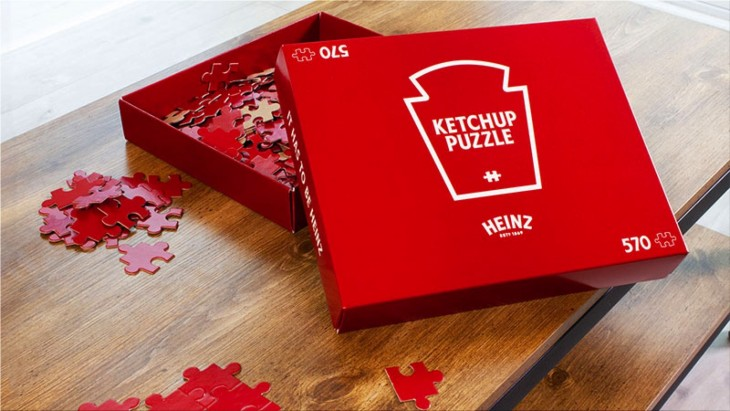 """Heinz """"Ketchup Puzzle - Contest"""""""