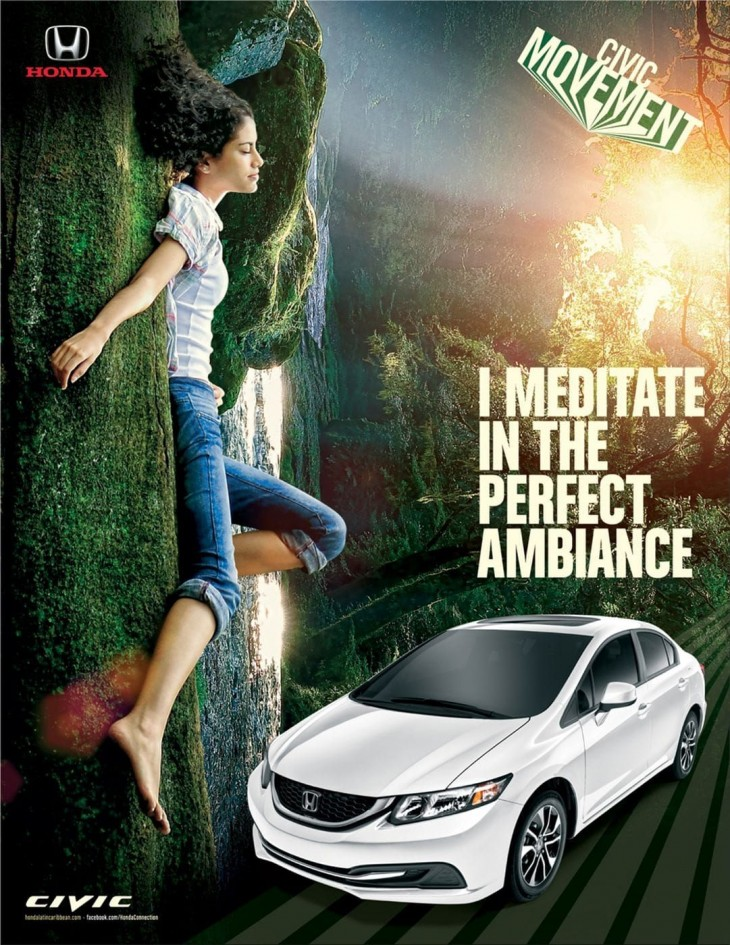 Honda Civic ads