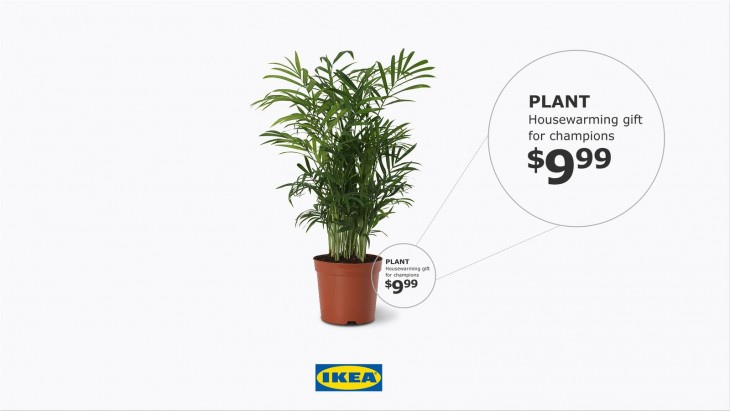 """IKEA """"gift for champions"""""""