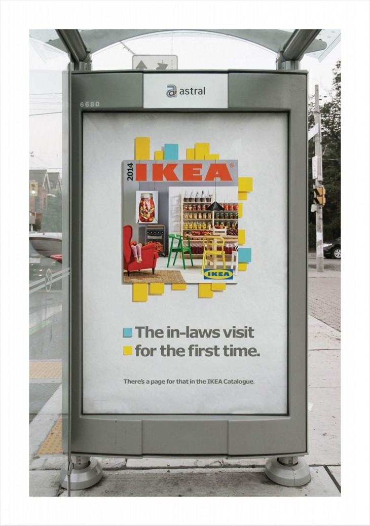 IKEA outdoor ads