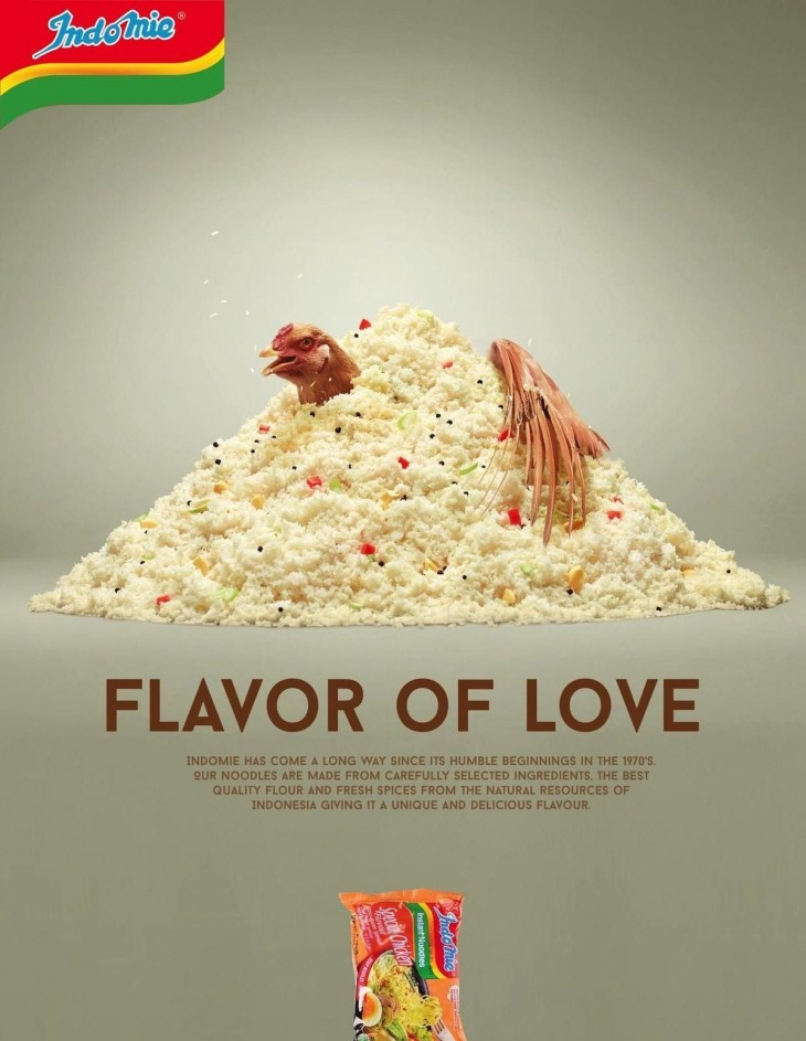 "Indomie Noodles: ""Flavor of Love"""