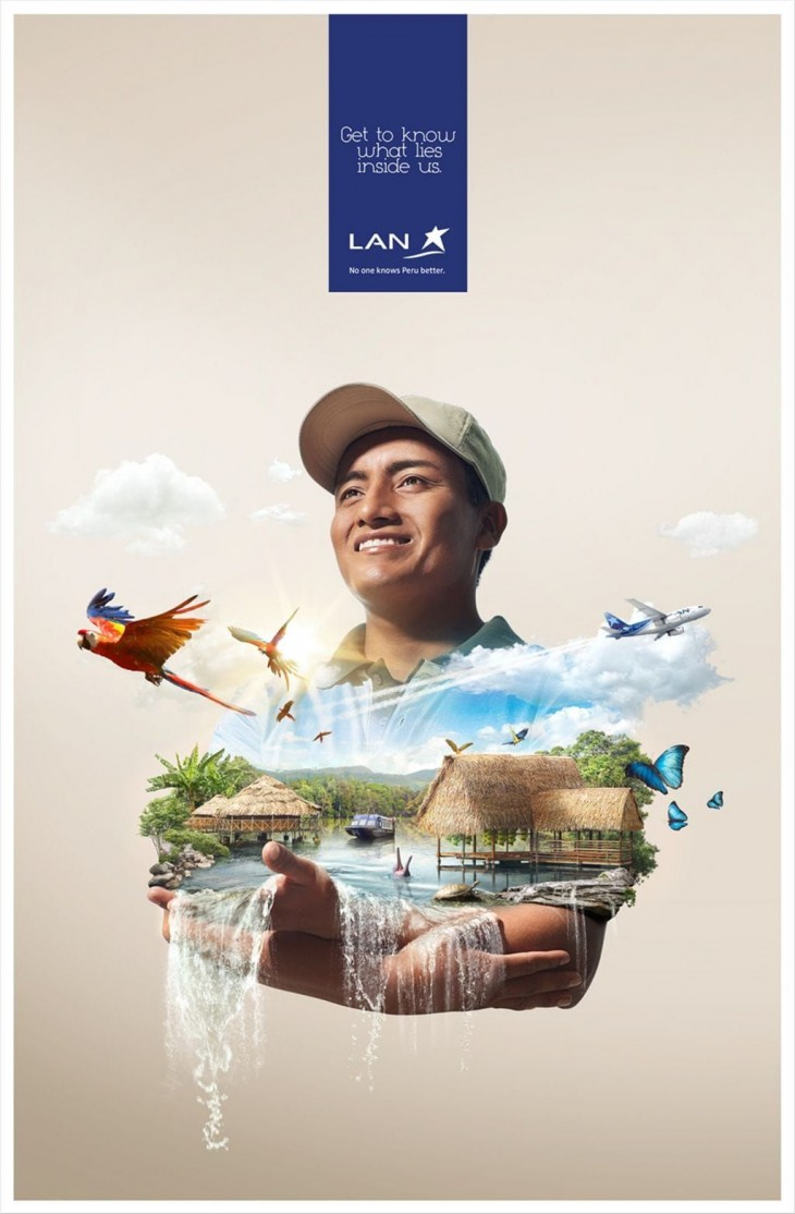 Lan Airlines ads