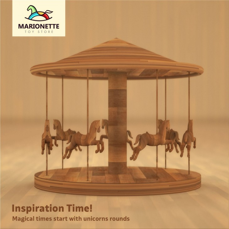 "Marionette Toy Store ""Inspiration time"""
