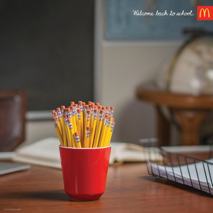 McDonald's: Welcome back to school