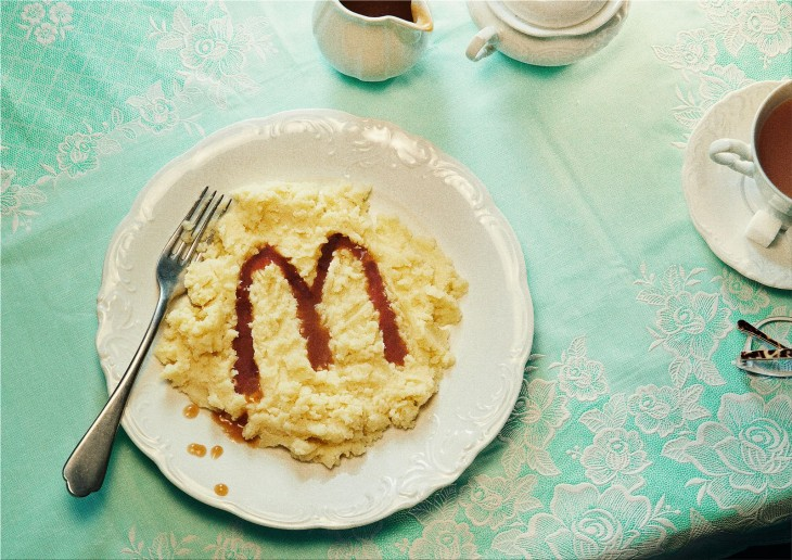 """McDonald's """"the dishes that wanted to be from McDonald's"""""""