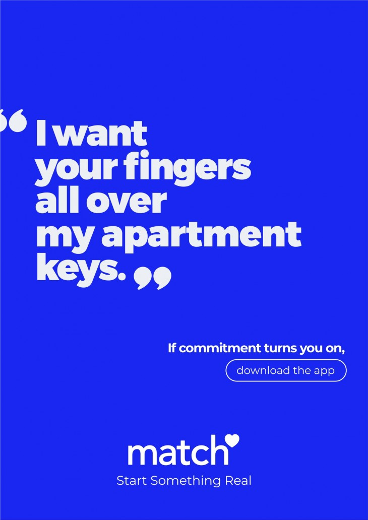 """Meetic """"If commitment turns you on"""""""