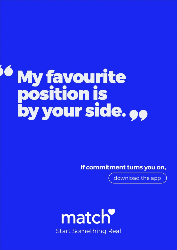 "Meetic ""If commitment turns you on"""