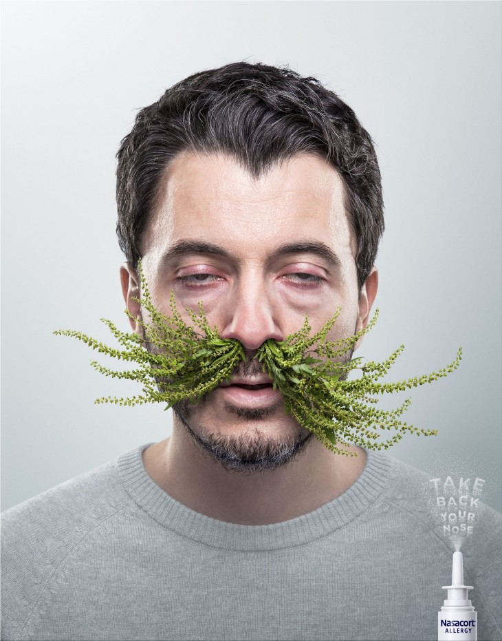 "Nasacort Allergy ""Take back your nose"""