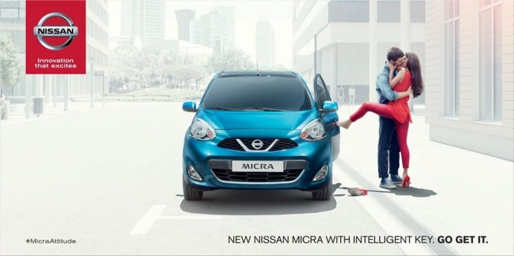 Nissan Micra ads