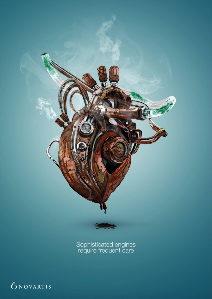 """Novartis """"Sophisticated engines require frequent care"""""""