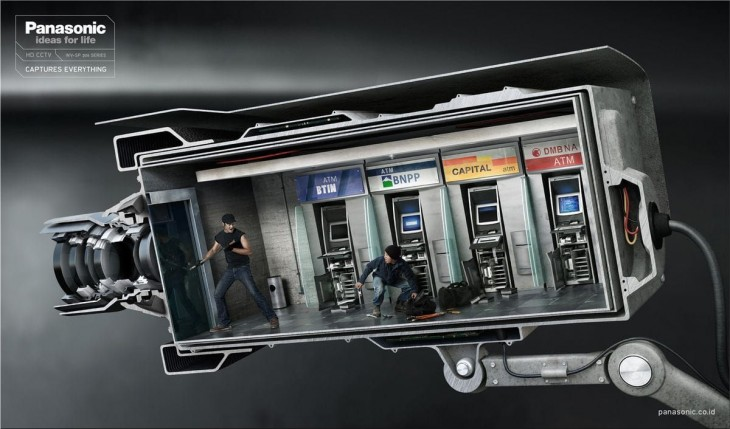 Panasonic HD CCTV ads