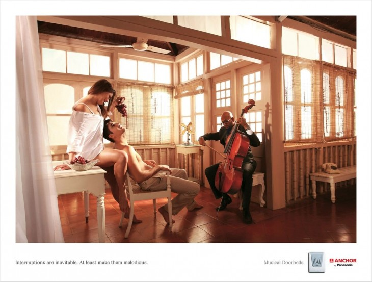 Panasonic Musical Doorbells print ads
