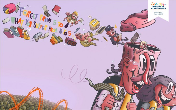"""Parques Reunidos: """"Happy Hour"""" by JWT"""