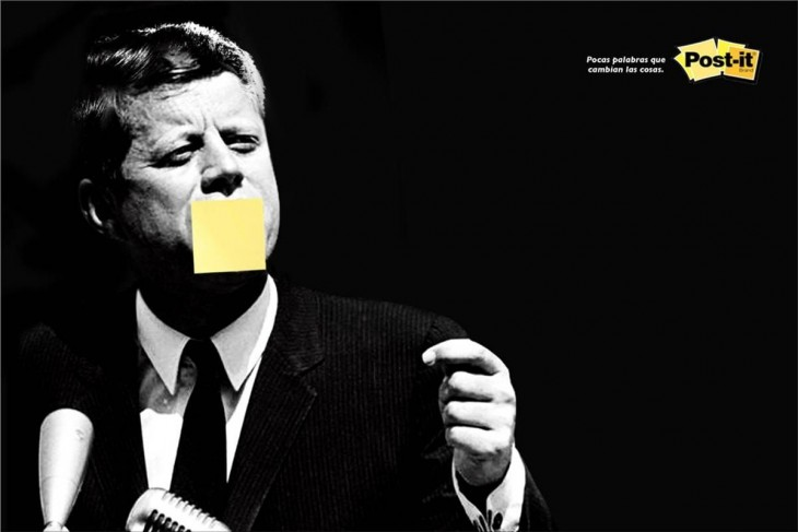 Post-it print ad