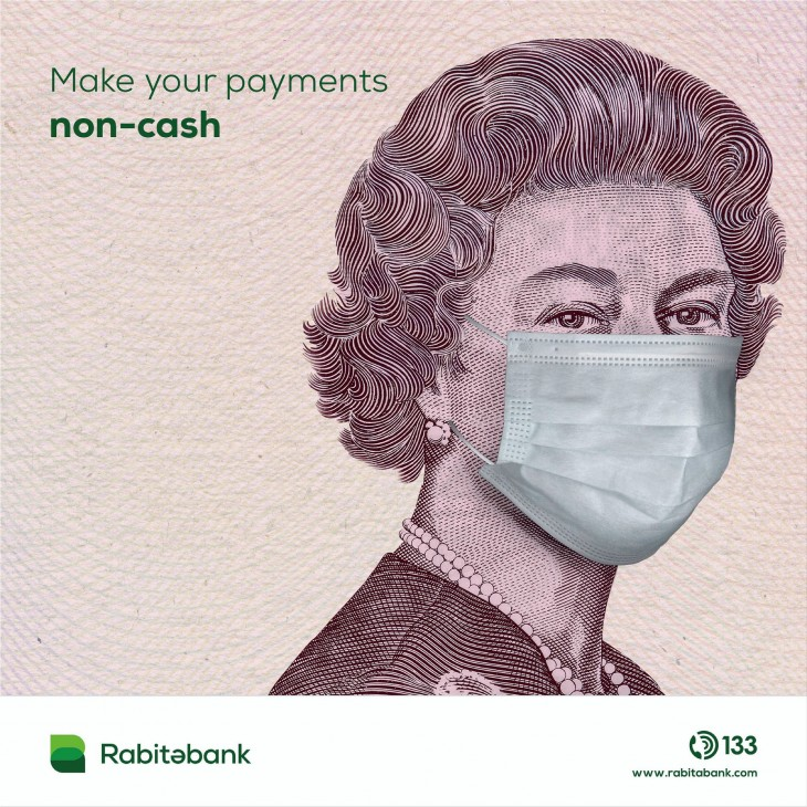 "Rabitabank ""Make your payments non-cash"""