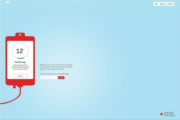 "Red Cross: ""Donate today"" by BBDO"