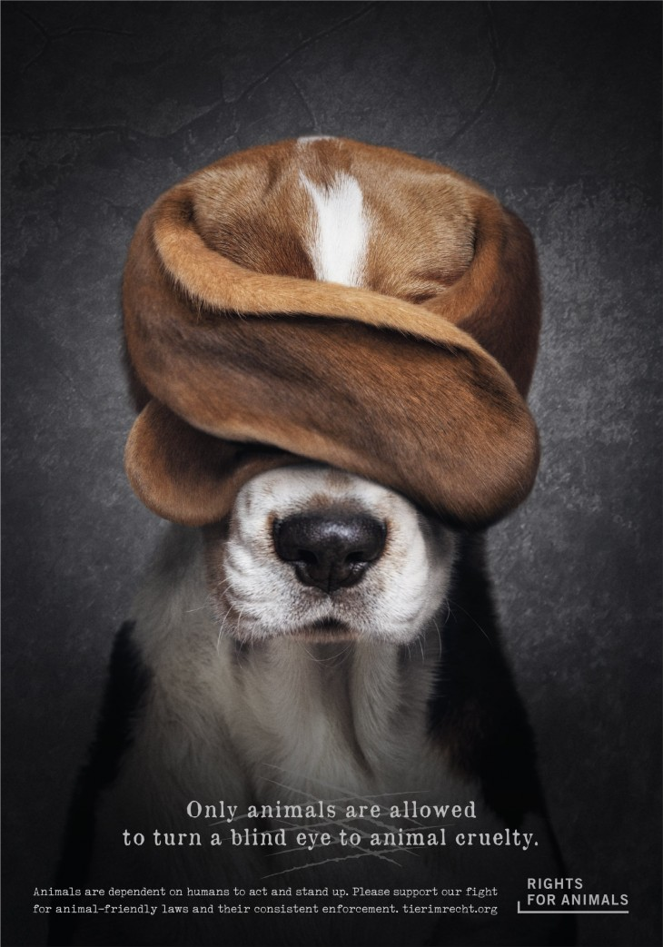 Rights for Animals advertisements