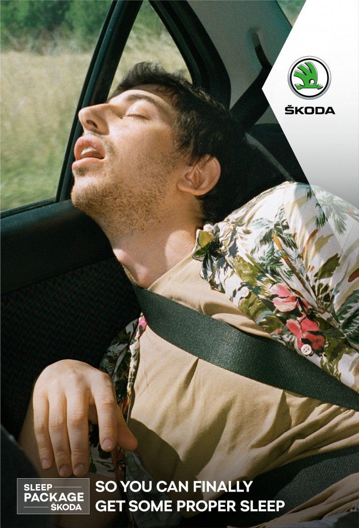 SKODA FRANCE outdoor ads