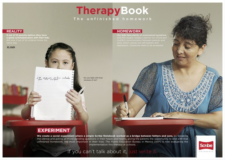 """Scribe """"Therapy Book"""" by Archer Troy"""