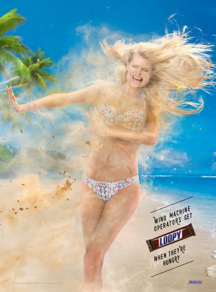 Snickers: Wind machine - Loopy