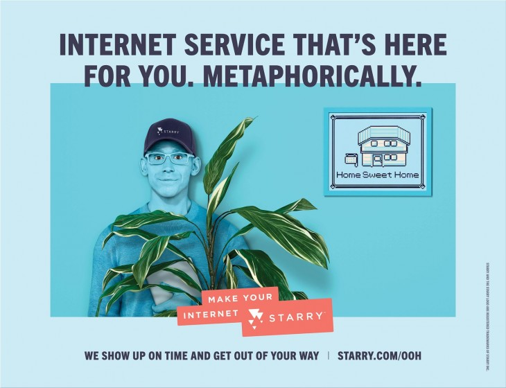 """Starry """"Make your internet Starry"""""""