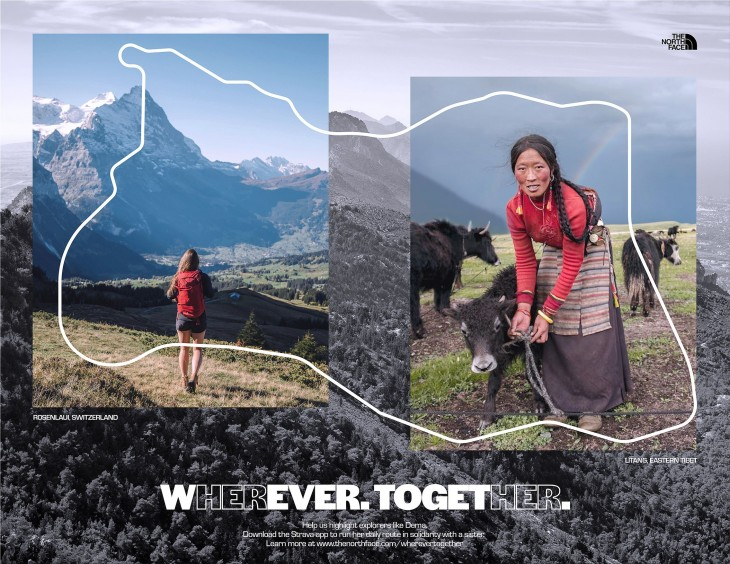 "The North Face ""Wherever. Together."""