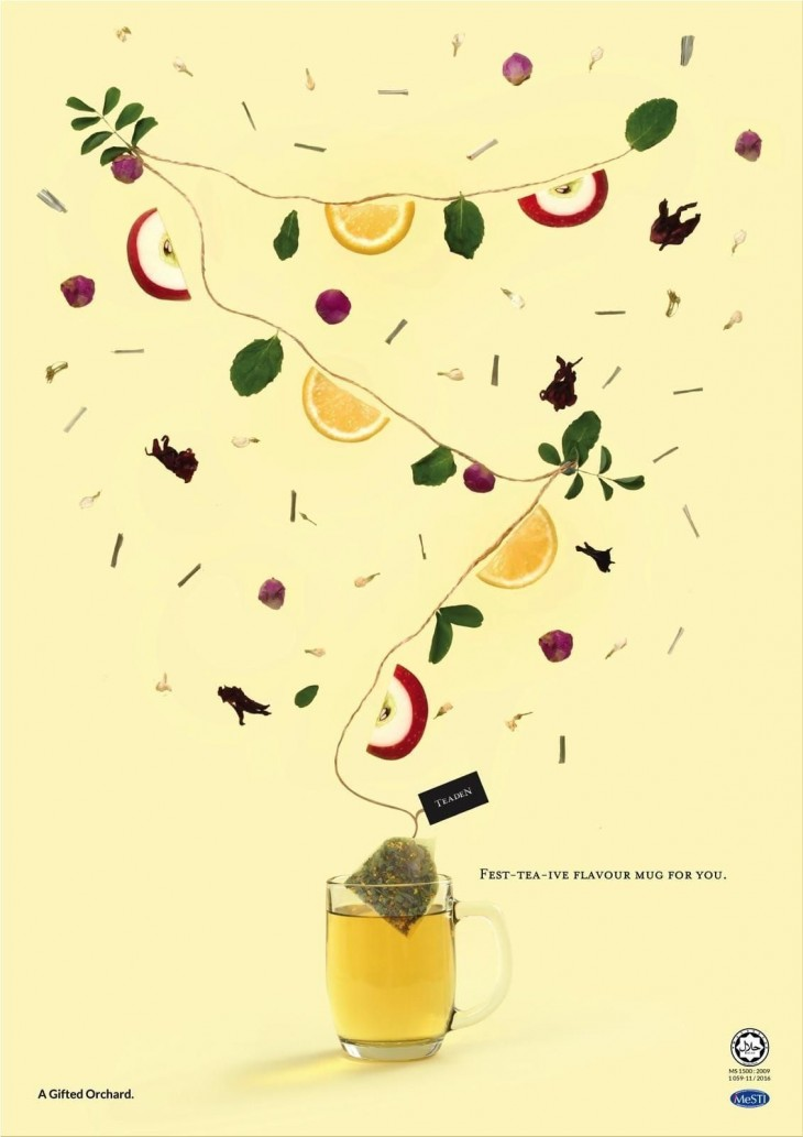 """Teaden: """"Celebrate- Tea A Day In Your Cup"""" by At Home Creative"""
